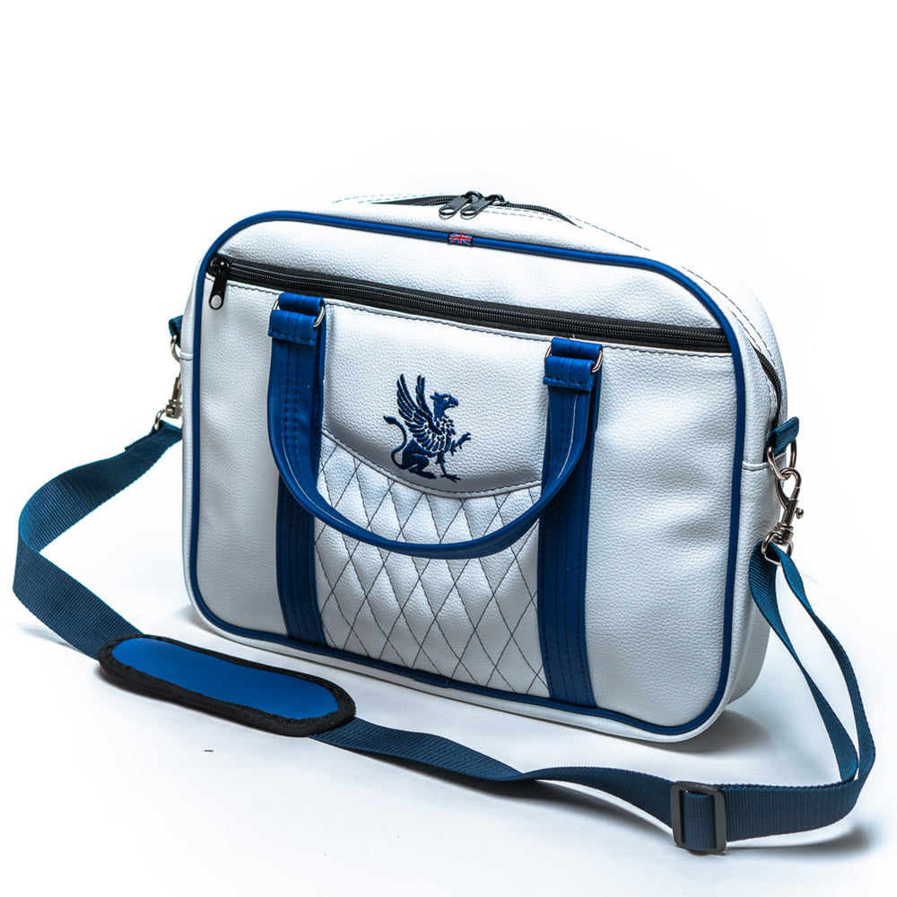 The Messenger Bag White Vinyl