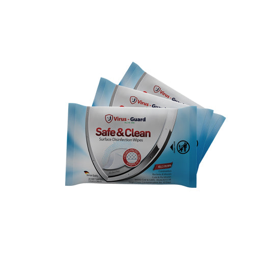 Safe & Clean Disinfection Wipes