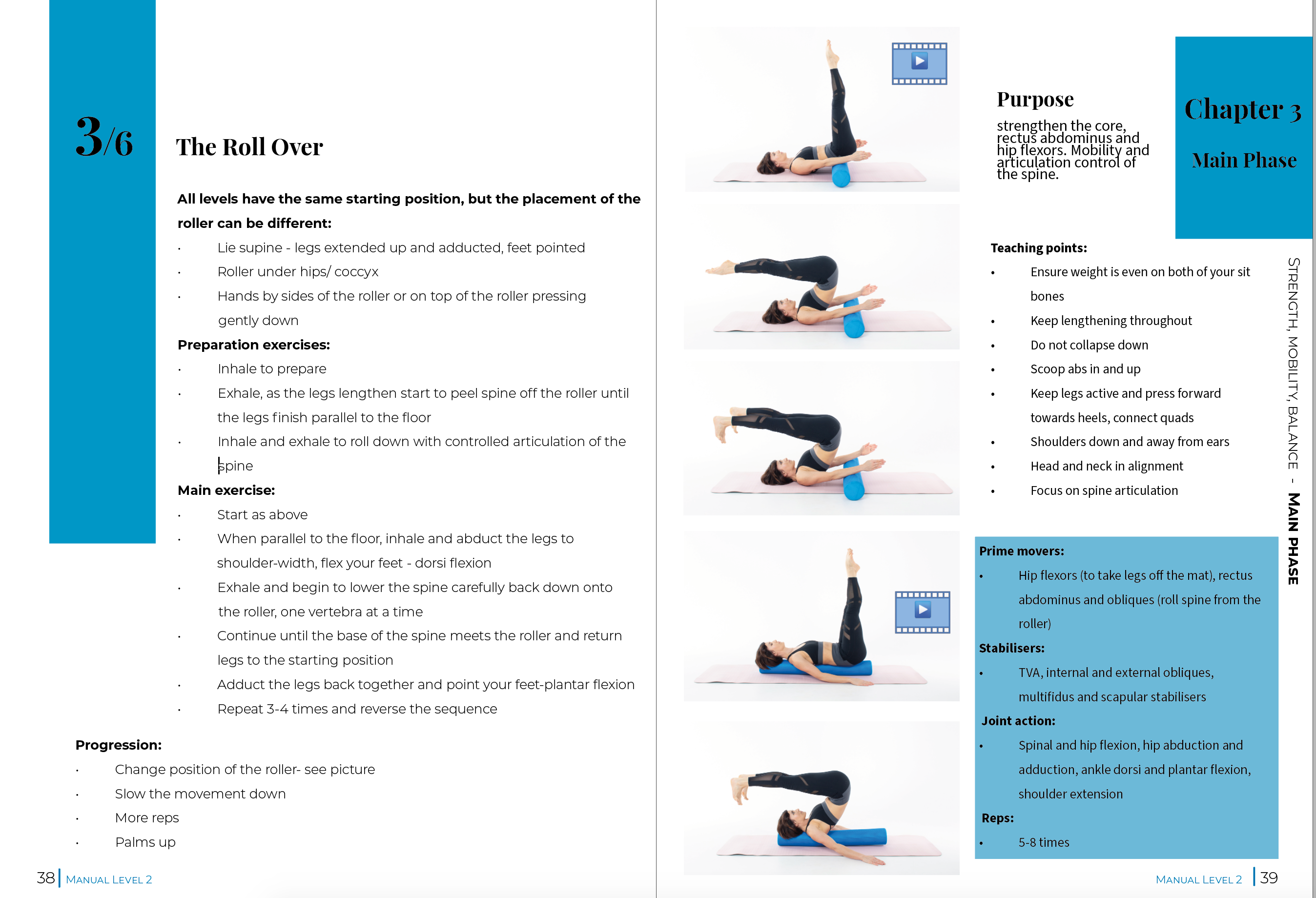 Foam Roller Level 2 - Manual - Interactive PDF