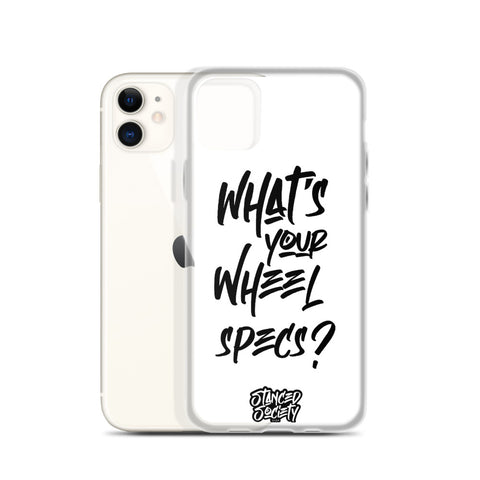 whats your wheel specs? iPhone cases