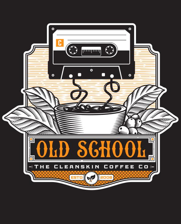Old School  - Cleanskin Coffee Co.