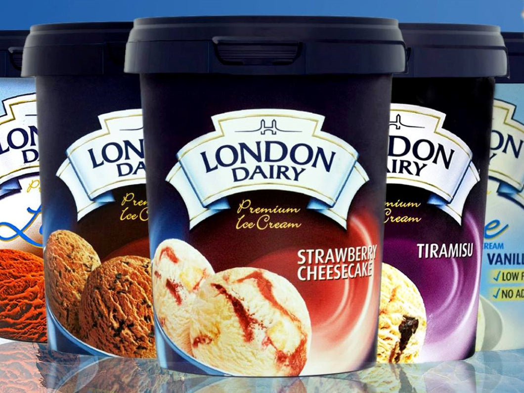 London diary ice cream al aktham