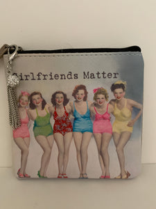 Coin Purse - Girlfriends Matter Colorful Swimsuits