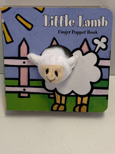 Finger Puppet Book - Little Lamb