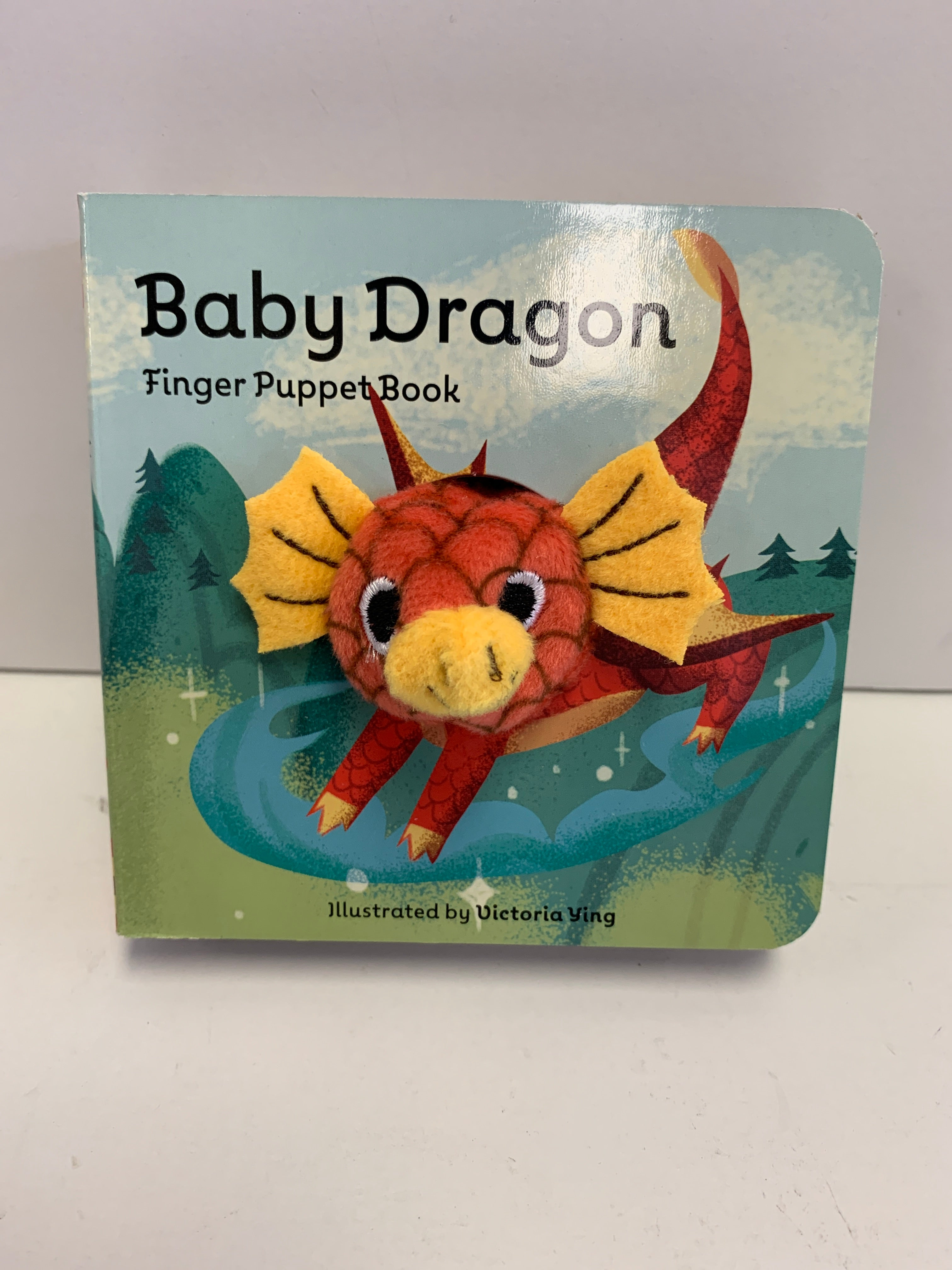 Finger Puppet Book - Baby Dragon