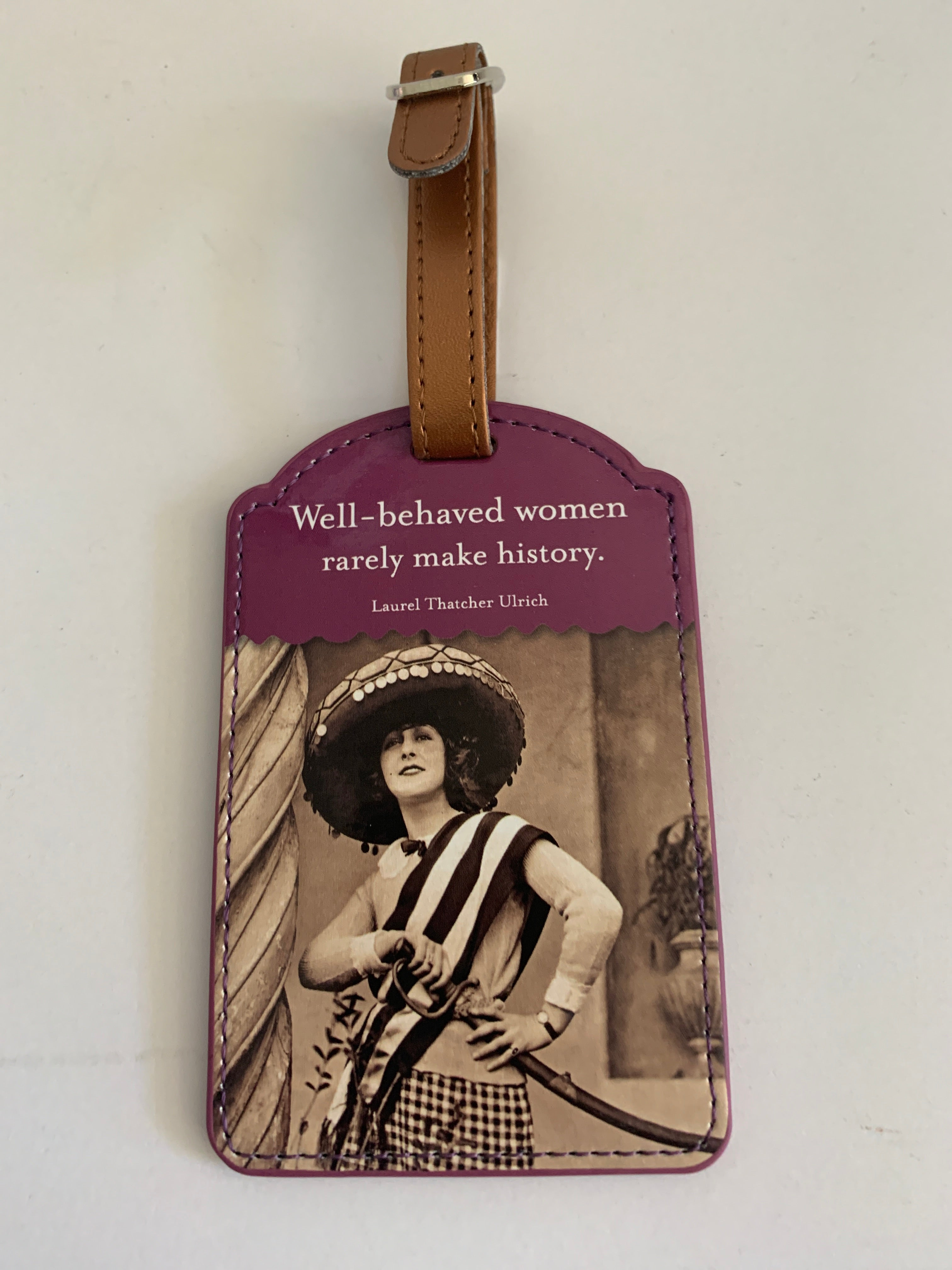Luggage Tag - Well Behaved Women