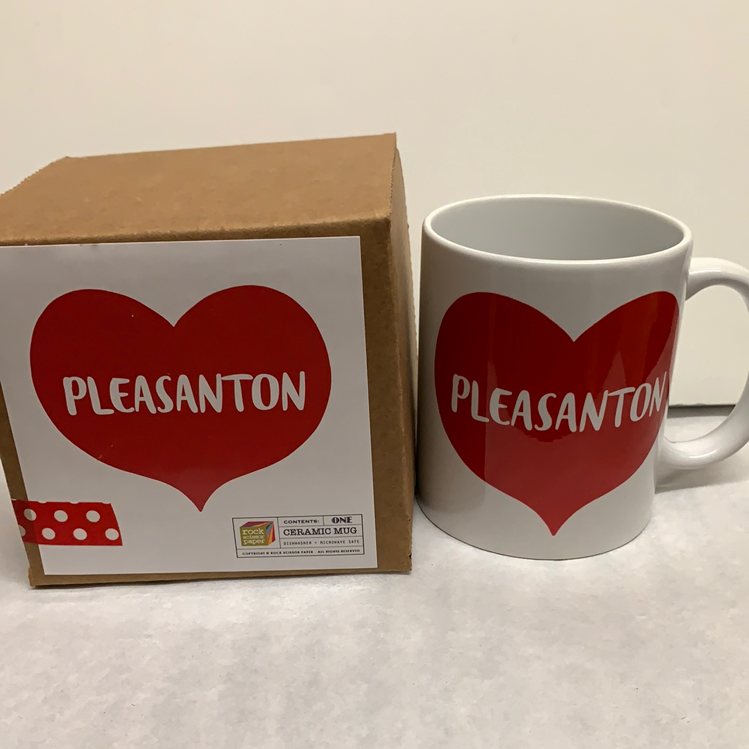 Mug - Heart Love Pleasanton Mug