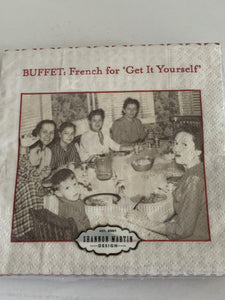 Beverage Napkins - Buffet
