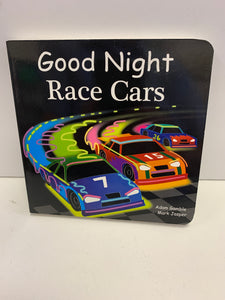 """Good Night Race Cars"""