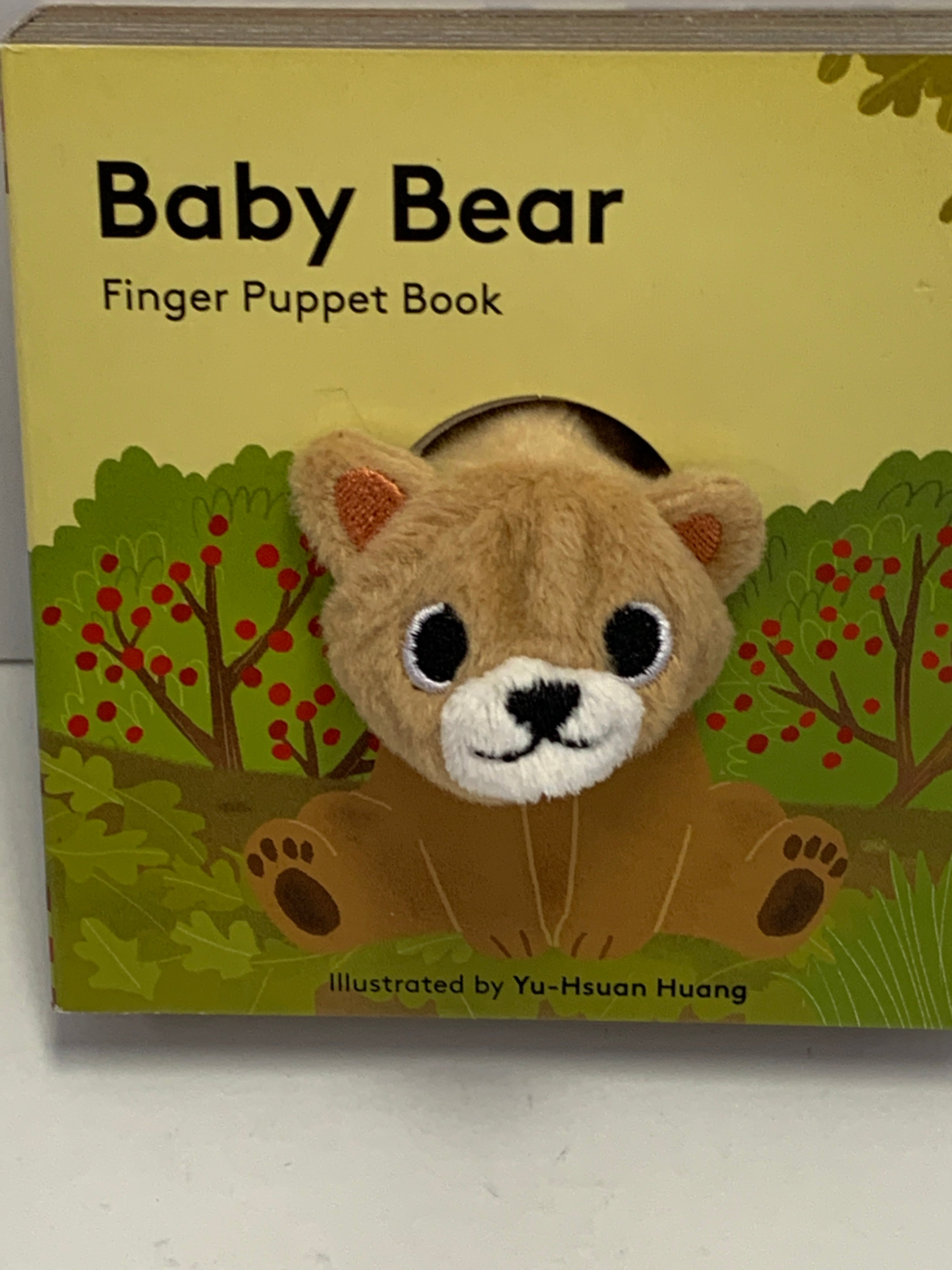 Finger Puppet Book - Baby Bear