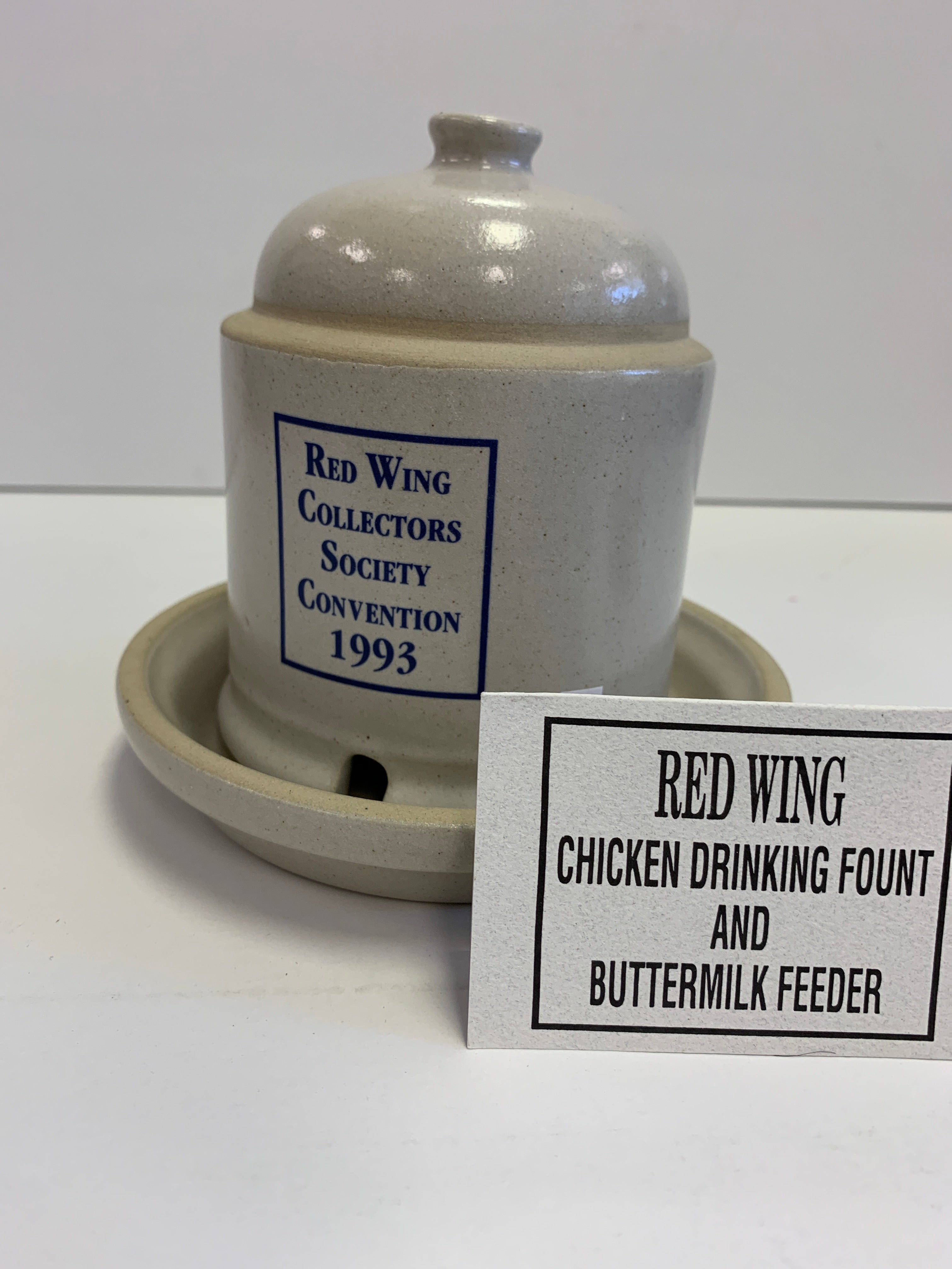Red Wing Collector's Society - Chicken Drinking Fount
