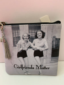 Coin Purse - Girlfriends Matter
