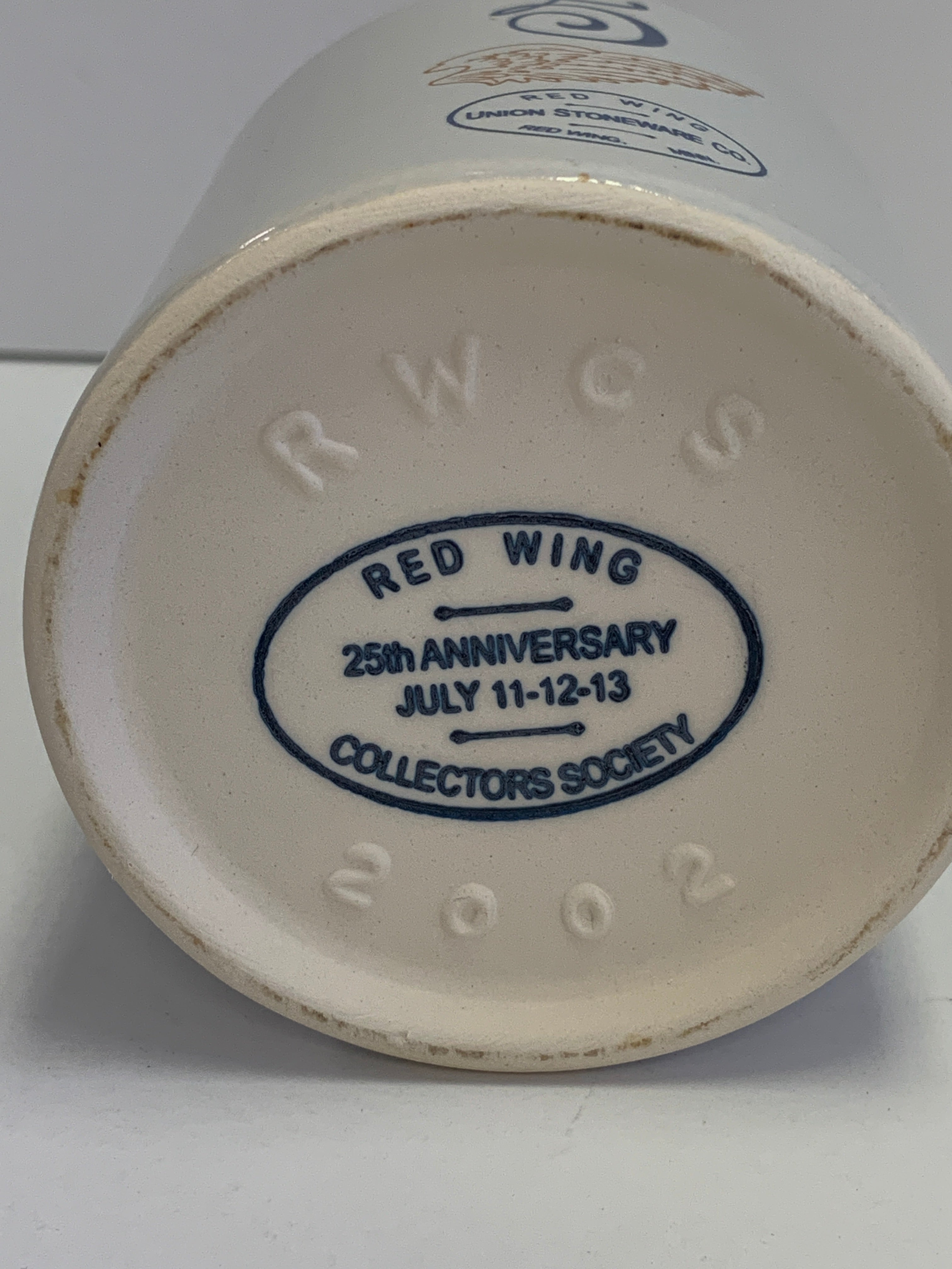Red Wing Collector's Society- Stoneware Canning Jar