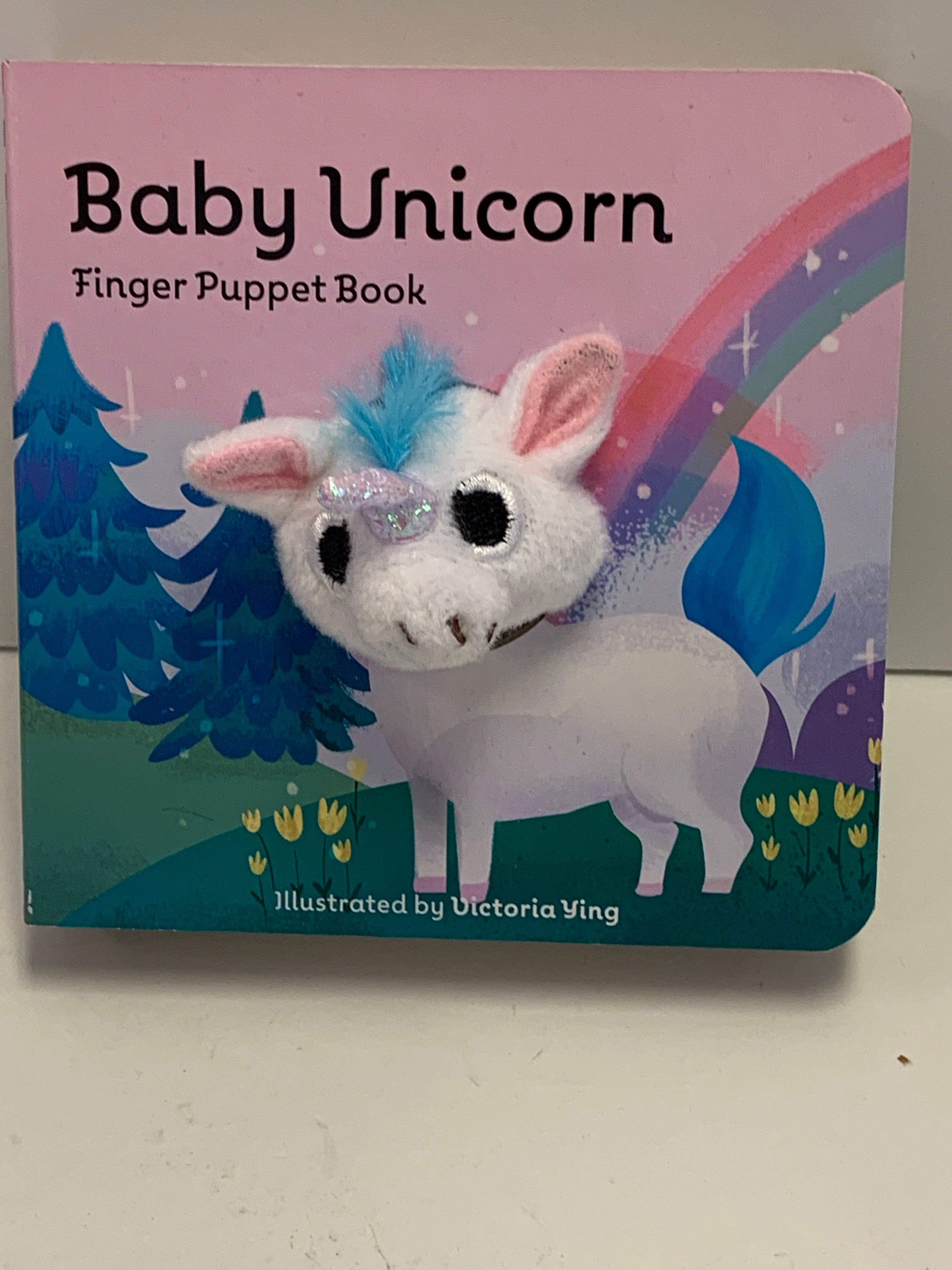 Finger Puppet Book - Baby Unicorn