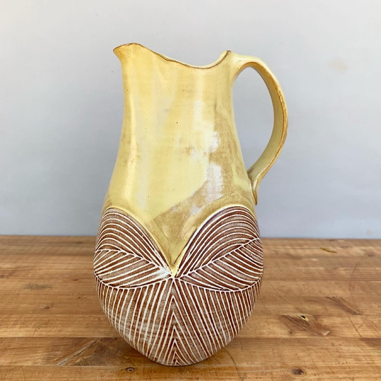 Yellow Pitcher