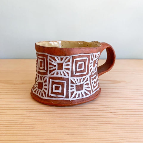 Sunburst Coffee Cup