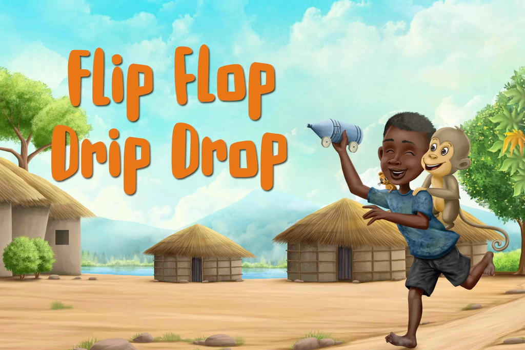 Animated behind the scenes of Flip Flop Drip Drop