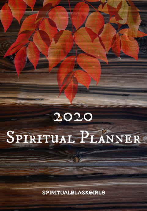 FREE 2020 Spiritual Black Girls Planner