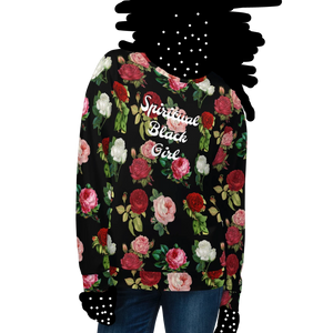 Spiritual Black Girl Rose Sweatshirt