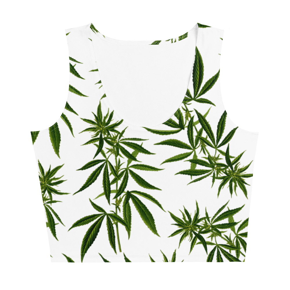 Cannabis Crop Top