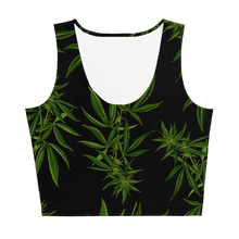 Load image into Gallery viewer, Cannabis Crop Top