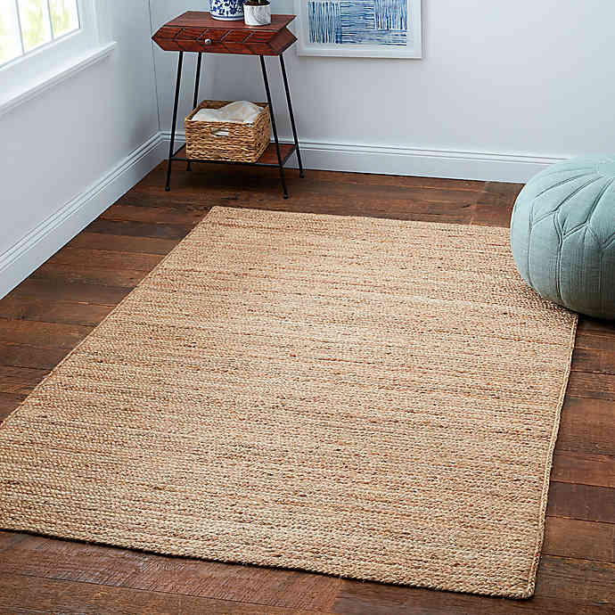 Bee & Willow Home Fireside Jute Braided 8' x 10' Area Rug In Natural