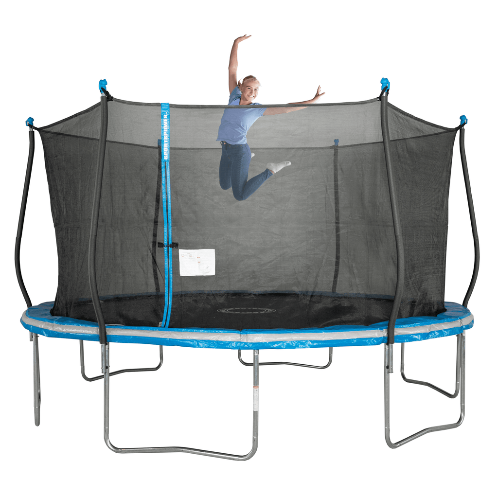 Bounce Pro 14-Foot Trampoline, with Classic Enclosure