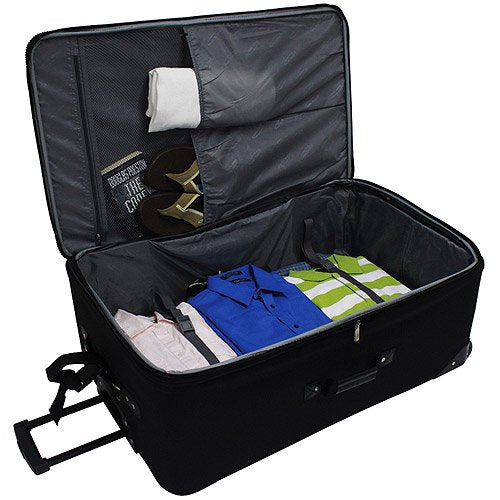 Traveler's Choice Rolling Upright Luggage
