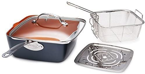 Gotham Steel 4 PC Deep Square Pan Set