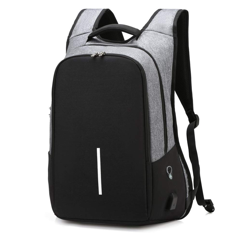 DQiDianZ laptop backpack In Gray 15.6 inch