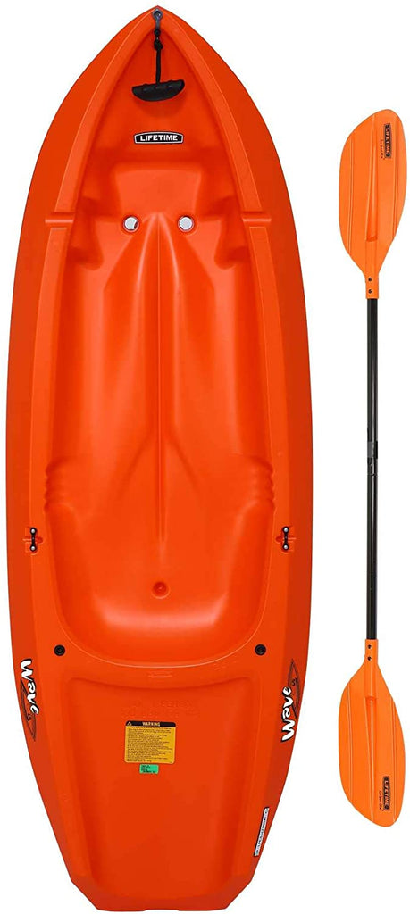 Lifetime Youth Wave Kayak (Paddle Included), Blue,pink,orange 6''