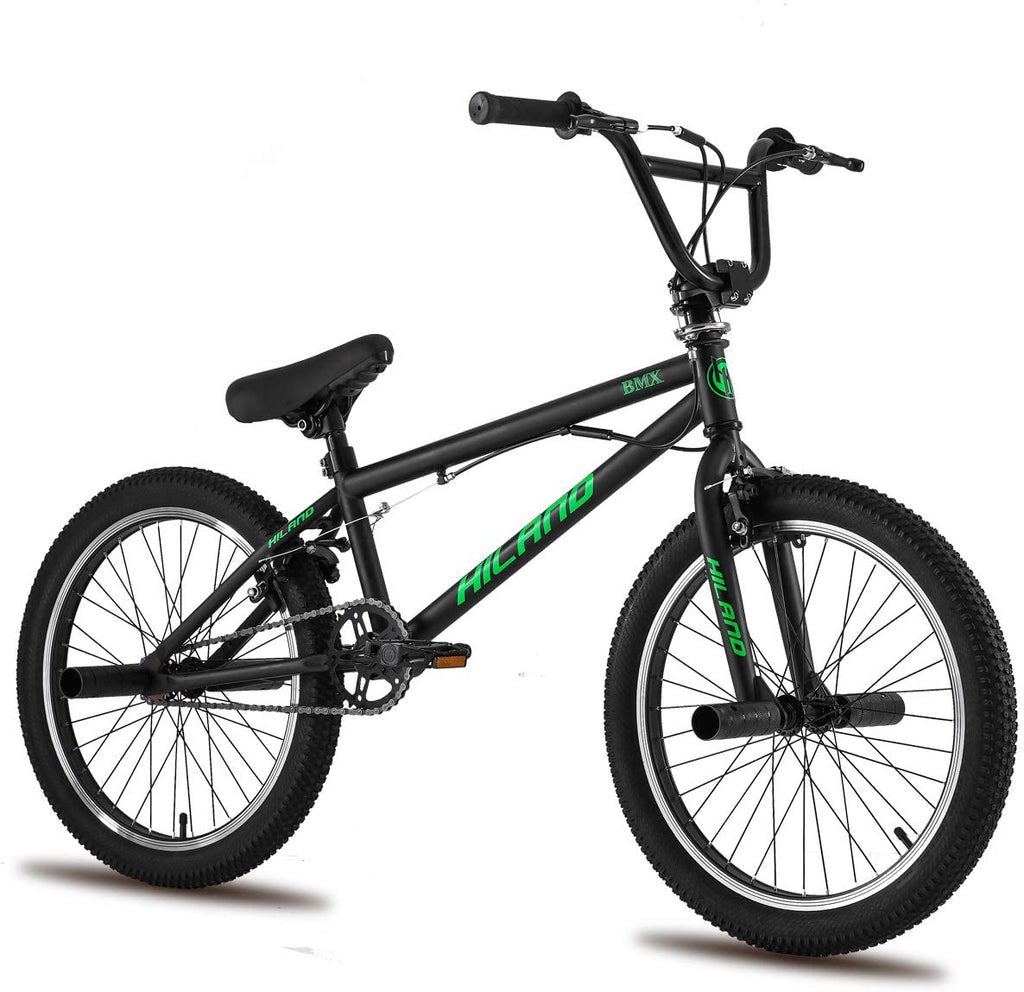 Hiland 20'' BMX Freestyle Bike for Boys with 360° Gyro & Pegs