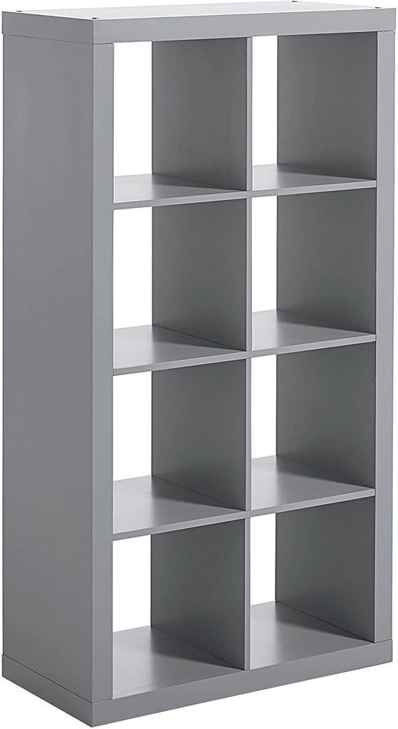 Better Homes & Gardens 8-Cube Organizer, Grey Finish
