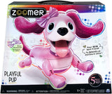 Zoomer Playful Pup Interactive Pink Robotic Dog