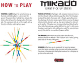 Mikado Pick Up Sticks Games