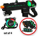 Ranger 1 Laser Tag Reality Gaming Kit with 4 Guns and 4 Vests