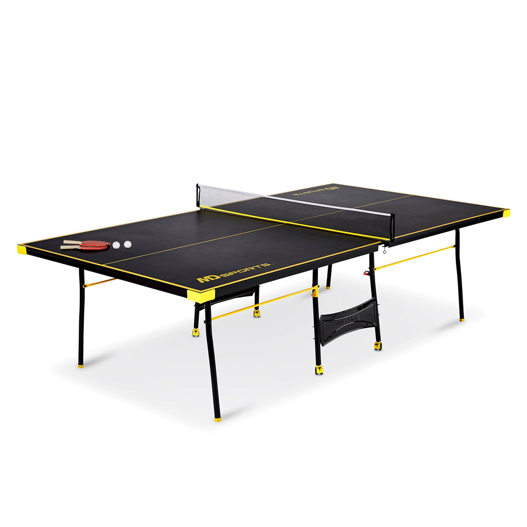 MD Sports Official 4 Piece Indoor Table Tennis