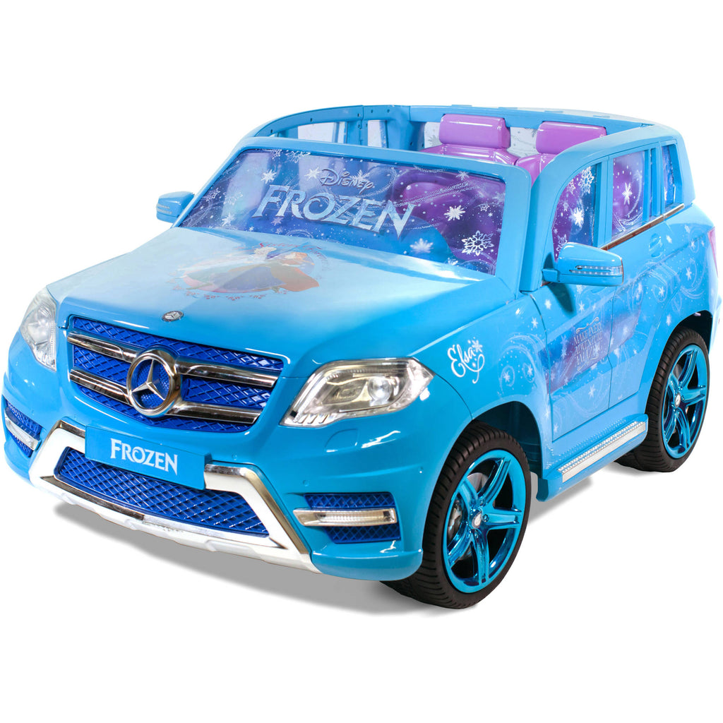 Disney Frozen Mercedes 12-Volt Battery Powered Ride-On - Riding in Luxury!