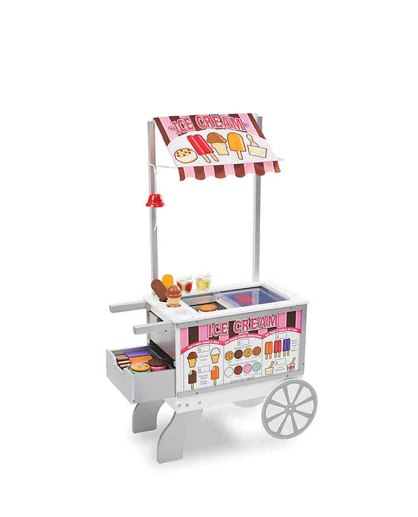 Melissa and Doug Snacks & Sweets Food Cart