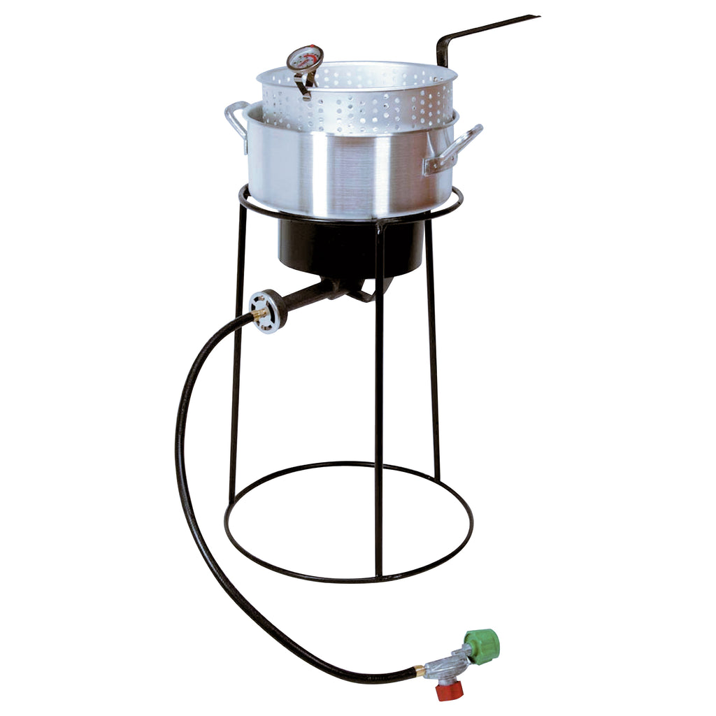 "King Kooker #22PKPT - 22"" Portable Outdoor Cooker Package"