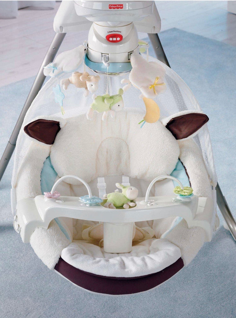 Fisher-Price My Little Lamb Cradle Swing
