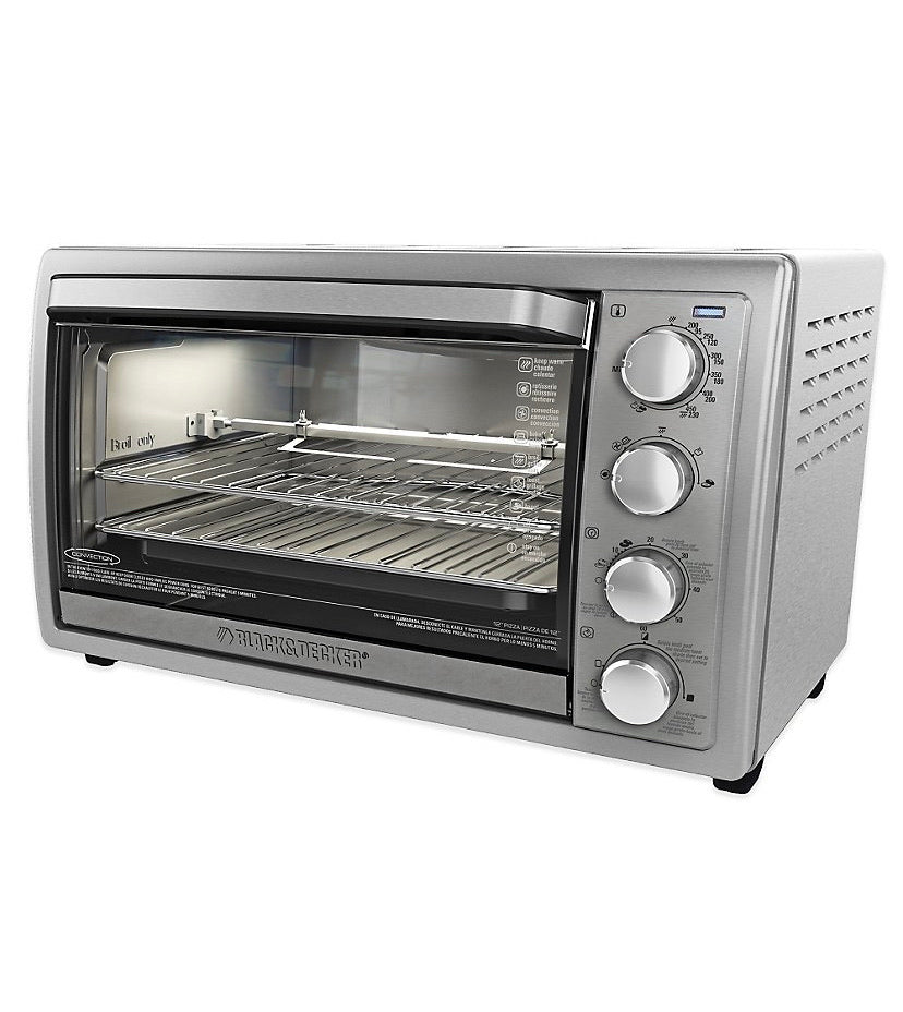 Black and Decker 9 Slice Rotisserie Convection Oven