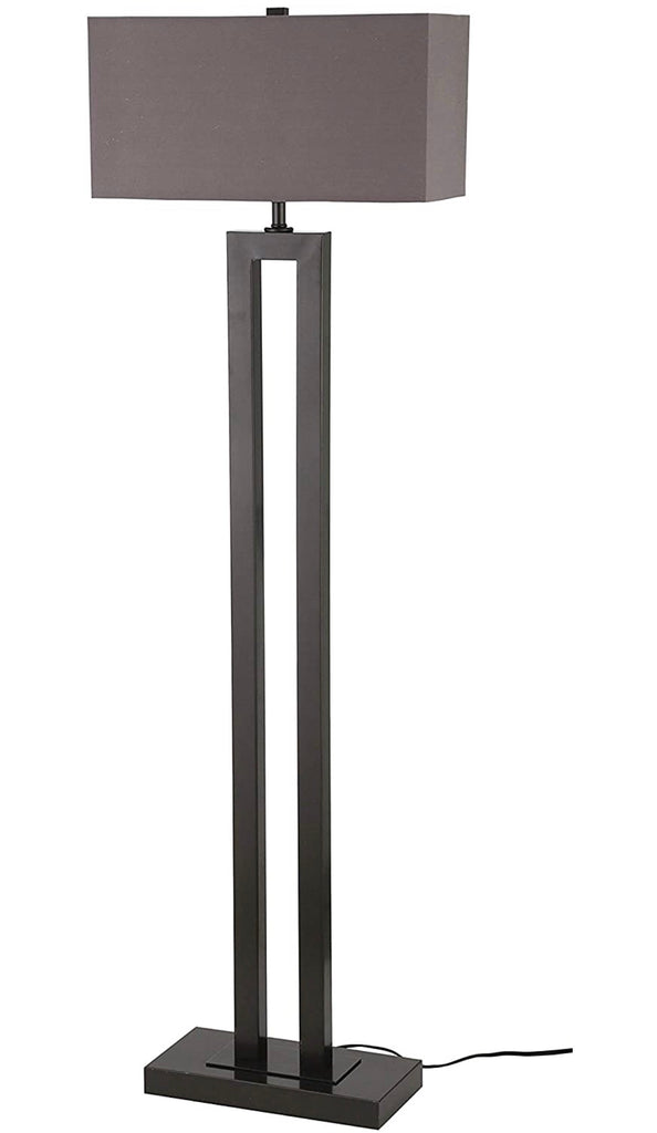 Stone & Beam Modern Metal Cut- Out Living Room Standing Floor Lamp