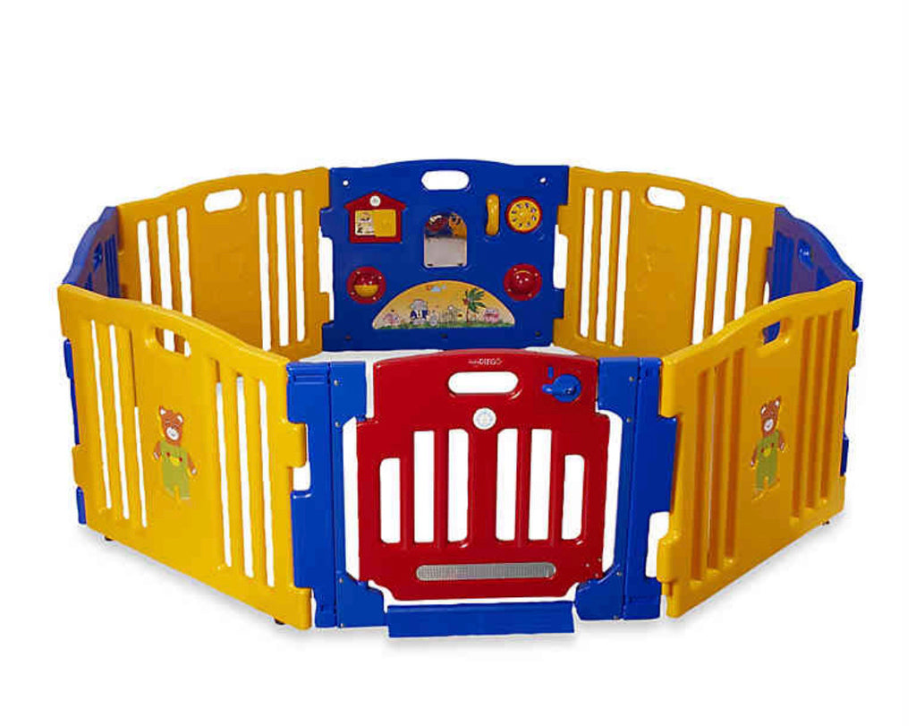 Baby Diego Cubzone Playpen and Activity Center