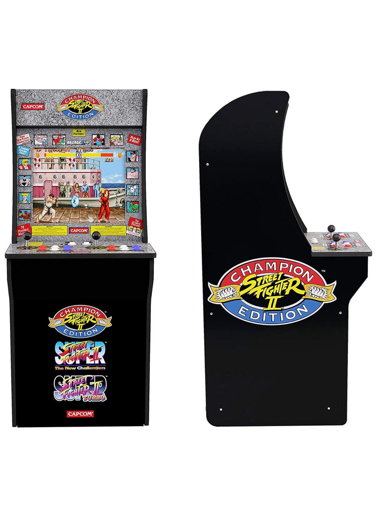 Arcade1Up Street Fighter - Classic 3-in-1 Home Arcade, 4Ft