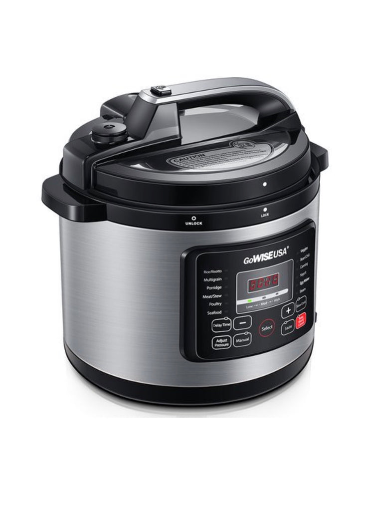 GoWISE USA Electric Pressure Cooker 10qt