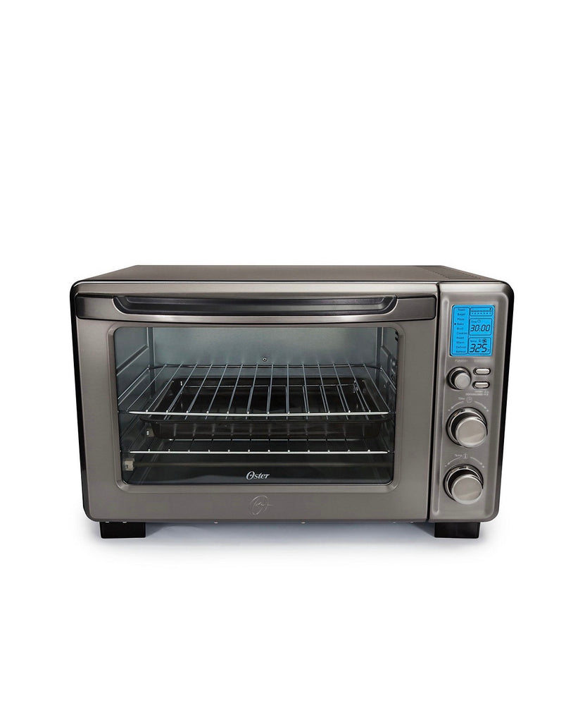 Oster Black Stainless Collection Digital Toaster Oven With Convection