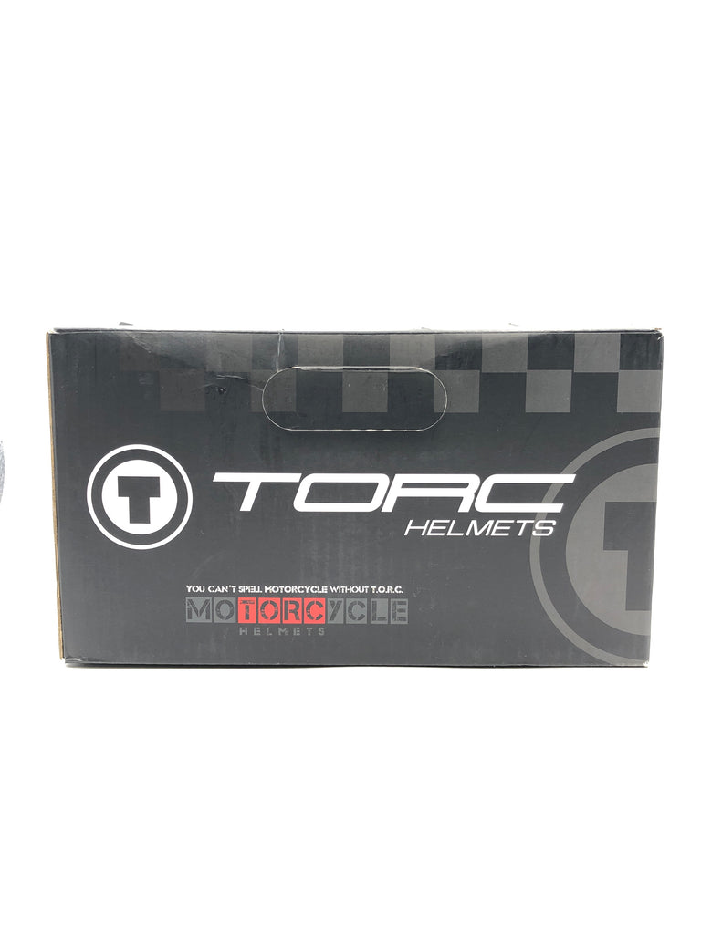 Torc Helmets Model T-55 in Flat Black/Tank Size: XS