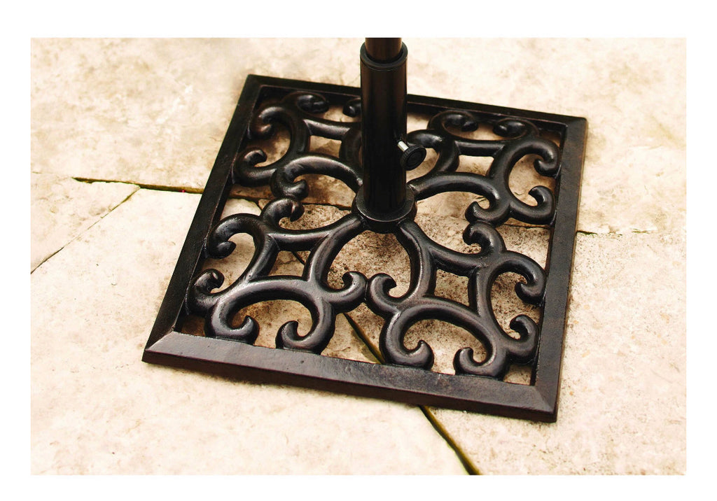 Better Homes & Gardens Englewood Heights Cast Iron Umbrella Base