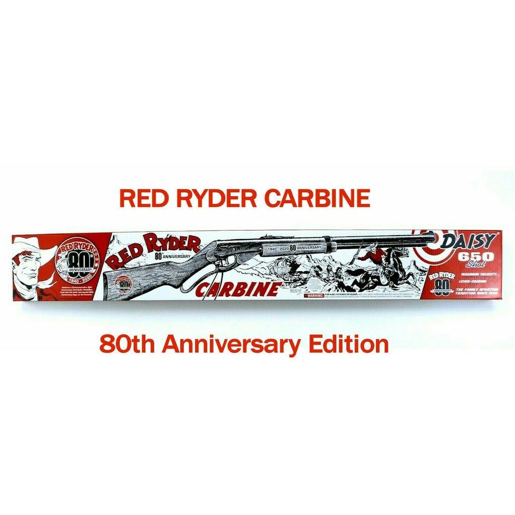 Red Ryder 80th Anniversary 650 BB Gun